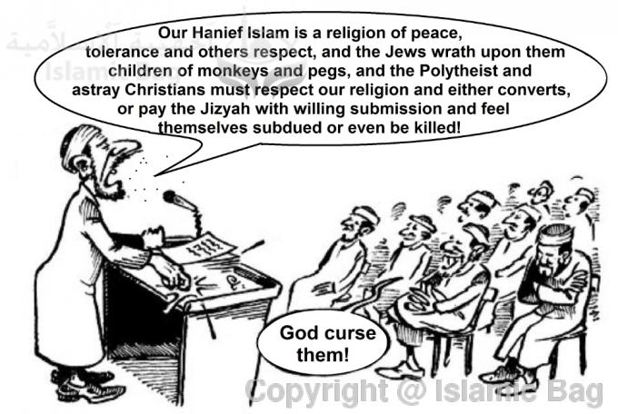 Islam is not a violent religion, the Quran is a book of peace, and terrorism is not Islam