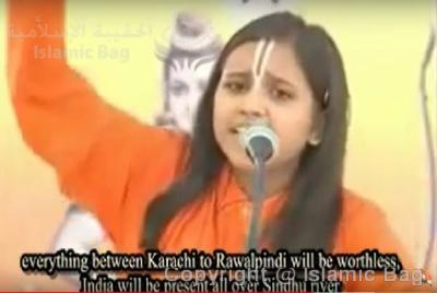 BREATHTAKING! 13-year-old Indian Hindu girl rails against her government leaders for their failure to wipe out the Islamic jihadists from Pakistan who wage continuous war against her people