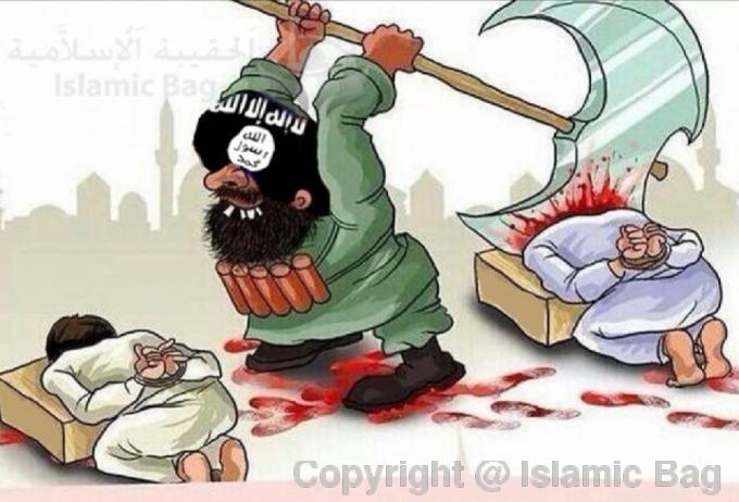 Islam the religion to enslave mankind Part 3, Islam allows beheading of war captives